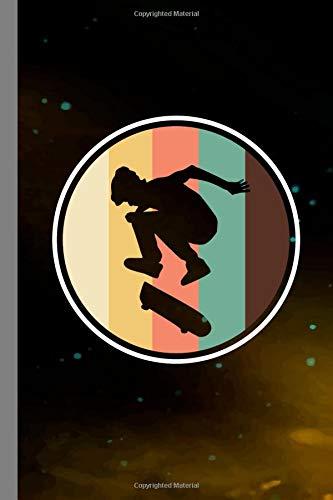 Skateboarding Vintage: Skateboard Gift For Skateboarders (6'x9') Dot Grid Notebook To Write In