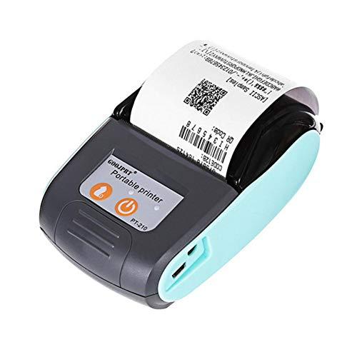 LiféUP Stampante Termica Wireless WiFi Mini - 58 mm POS USB Portatile per ricevute di Biglietti con...