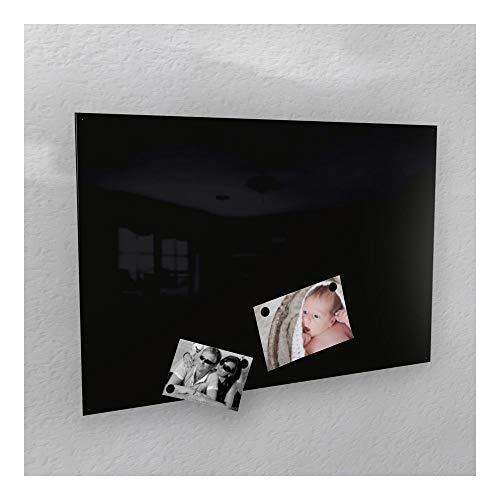 Lavagna magnetica 3misure 40x 60cm/50x 80cm/60x 90cm RAL 9005jet Black High Gloss,...