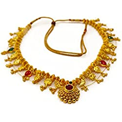 Tejas immitation jewellery Gold Plated Alloy Necklace for Women