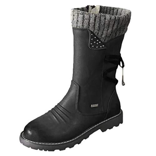 2019 Nuovo Stivaletti da Donna, Arch Support, Autunno Inverno Vintage Pelle Stivali Caviglia con Cerniera, Donna Scarpe Comodo Tacco Piatto Stivali per Ufficio Lavoro