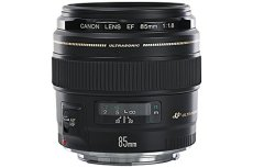 Canon EF 85MM F/1.8 USM - Objetivo para Canon (distancia focal fija 85mm, apertura f/1.8) Negro