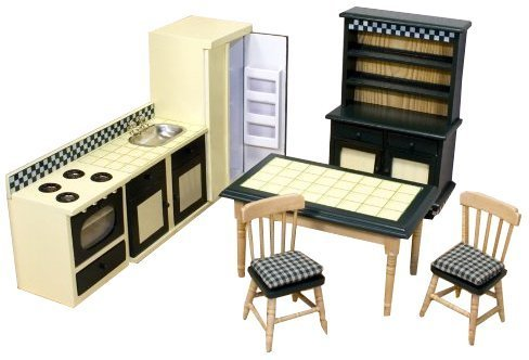 Melissa & Doug Juego de cocina para casa de muñecas (12582)