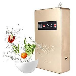 Generatore di ozono automatico,Purificatore D'aria Sterilizzatore Detergente Per Acqua, Verdure,600mg / H