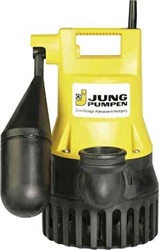 Jung Pumpen Tauchpumpe U 5 KS Niro #JP09387 m.Schaltung 3m Ltg. Pumpe 4037066093871