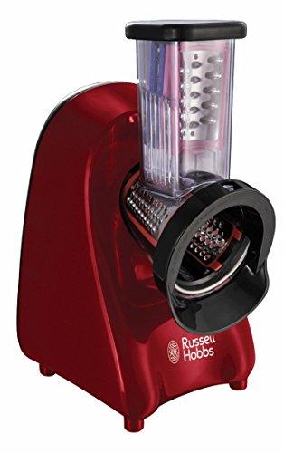 Russell Hobbs 22280-56 Desire Slice & Go - Picadora, incluye 3 discos: para cortar en rodajas, para cortar en tiras gruesas y para rallar