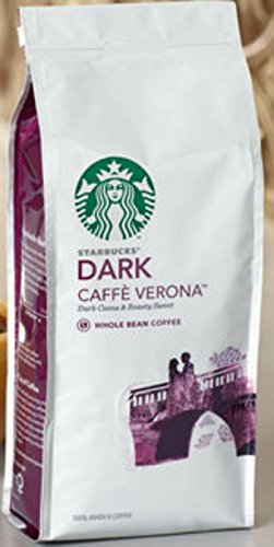 Starbucks Dark coffee beans (a balanced flavour, bitter cocoa, chocolate notes coffee with aromas of dried fruit and chocolate)