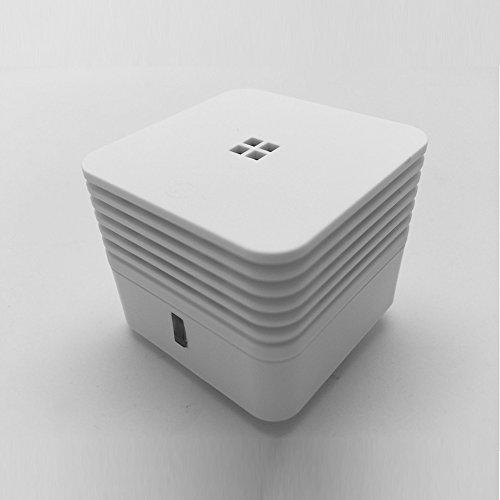 Smiledrive World's Smallest ABS Photoelectric Smoke Alarm Detector (White) 7