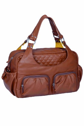 Lässig Wickeltasche Tender Multi Pocket Bag, cognac