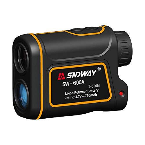 Telescope Range Finder, LayOPO USB Charging 7X Hunting Golf Rangefinder for Measuring Speed Distance Angle Height, 656/1093 Yards IP54 Waterproof Monocular Distance Measuring