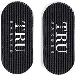 TruBarber Hair Grippers - Black/Red