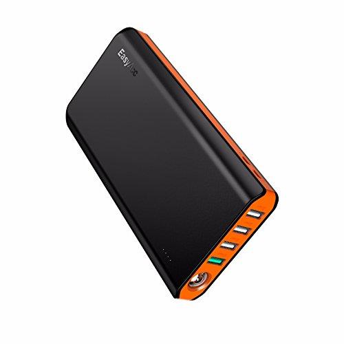 EasyAcc Powerbank 20000mAh QC 3.0 Ricarica Rapida Batteria Portatile e Compatta con Due Ingressi...