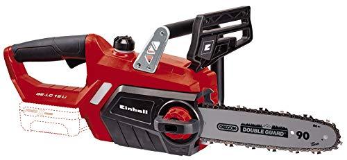Einhell GE-LC 18 Li Solo - Motosierra a batería Power X-Change 18V, longitud de corte: 23cm, velocidad de corte: 4.3 m/s, cadena y espada Oregon (ref. 4501761)