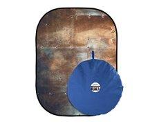 Lastolite LLLB5712 - Fondo plegable (1.8 x 2.10 m) corrugated/metal