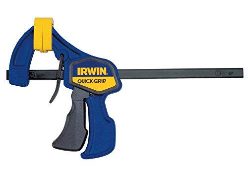 "Irwin 1964742 Quick Grip Mini Bar Clamp, 150 mm, 6"", Blue & Yellow"