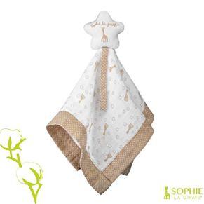 Sophie la girafe 220126 - Doudou 100% algodón bio sophie la girafe, unisex