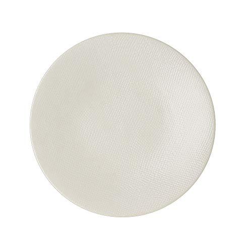 TABLE PASSION Vesuvio - Piatto da Portata 31 cm, Colore: Bianco