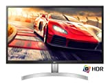 "LG 27UL500 Monitor 27"" (68.58 cm) Ultra HD 4K LED IPS HDR 10, 3840 x 2160, Radeon FreeSync 60Hz, 1 x Display Port, 2x HDMI, Uscita Audio, Multitasking"