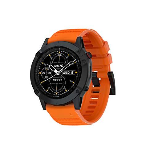 SUPORE Cinturini di Ricambio Fenix 6 Compatibile per Instinct Smartwatch/Fenix 6 /Fenix 6 PRO/Fenix 5 /Fenix 5 Plus/Forerunner 935 / Approach S60 in Silicone