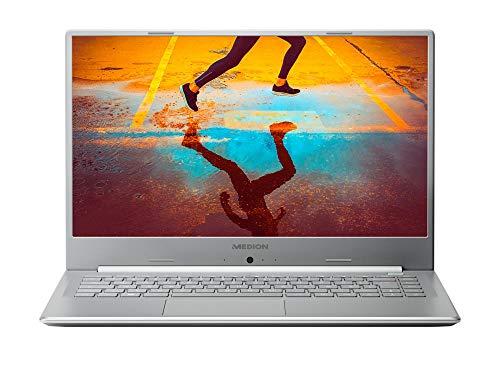 MEDION S6445 39,6 cm (15,6 Zoll) Full HD Notebbok (Intel Core i7-8565U, 8GB DDR4 RAM, 512GB SSD, Akku Schnellladefunktion, Win 10 Home)