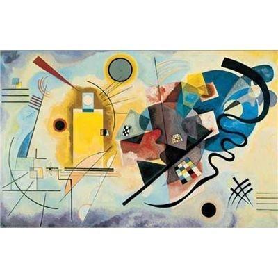 Editions Ricordi 5901N16178 - Kandinsky, Giallo, rosso, blu, Puzzle da 1500 pezzi