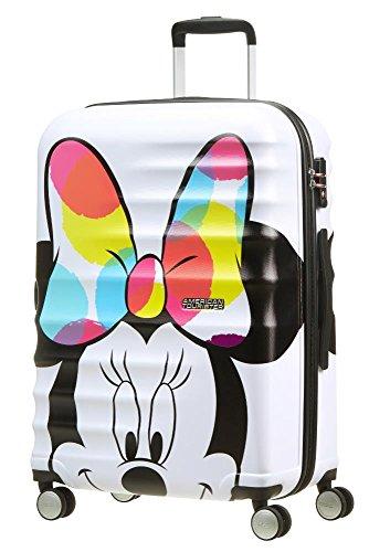 American Tourister Disney Wavebreaker, Valigia , Multicolore (Minnie Close-Up), 64 liters, M...