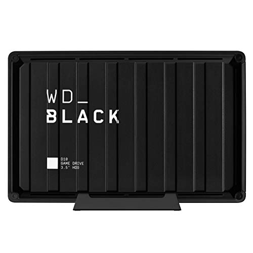 WD_BLACK D10 Game Drive 8 TB, HDD Desktop da 7200RPM con Raffreddamento Attivo, per Archiviare Tutti...