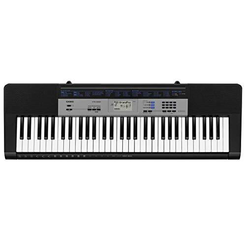 Casio CTK-1550 61-Key Standard Keyboard (Black)