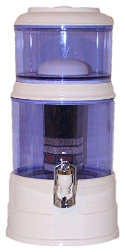 AcalaQuell Mini 8L water filter dispenser with cartridges bundle (white) (4 months of AcalaQuell Premium) (1 cartridge)