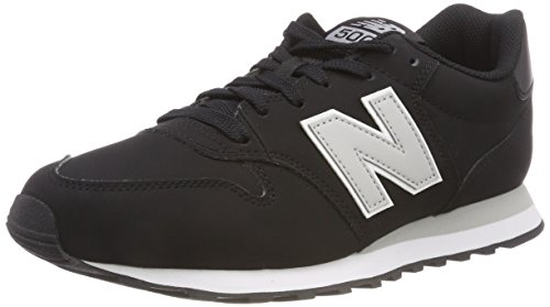New Balance 500, Zapatillas para Hombre, Negro (Black/Grey Black/Grey), 45 EU