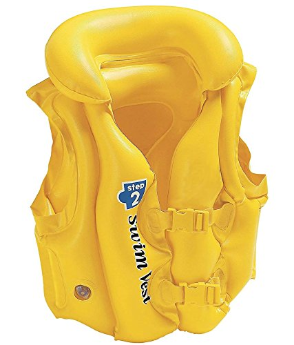 TAG3 ® Delux School Children Swim Vest Life Jacket for Swimming Pool, Medium