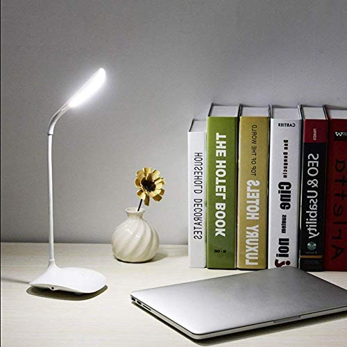 Unity BrandTM Rechargeable LED Touch On/Off Switch Desk Lamp Children Eye Protection Student Reading Led Table Lamps USB Charging Touch Dimmer