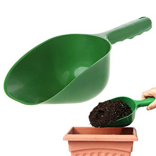 Jiamins Pelle en Plastique Durable de Main de Scoop de Sol, truelle de Jardin d'outil de creusement de Jardin de Culture