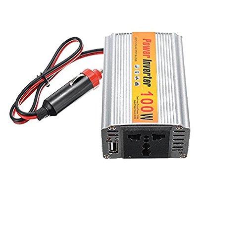 Z9CTHDF25JL Inversor de Coche / NX1012 Adaptador Inversor de Potencia de Coche 100W DC12V a AC110V Salida