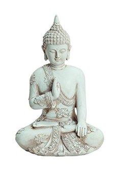 Figura de Buda 17 cm de altura de poliresina