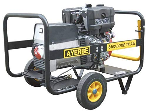 Ayerbe generadores diesel - Generador ay-6000 arranque electrico/a diesel
