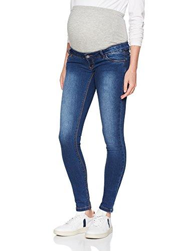 MAMALICIOUS Damen MLLOLA Slim Blue Jeans NOOS B. Umstandshose, Blau Denim, W27/L32 (Herstellergröße:27)