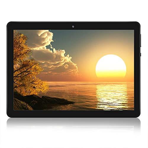 """4G Android Tablet 10 \""""Quad-Core-Prozessor 2 GB RAM und 32 GB Tablet PC WiFi-Speicher GPS-Kamera und Zwei Kartensteckplätze (4G Schwarz)"""
