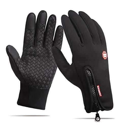 Supstar Ciclismo Guanti Full Finger Impermeabile Antivento Antiscivolo Touchscreen Guanti Invernali...