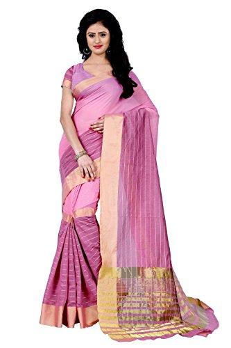 Sarees (Latest Designer Cotton Silk party wear Saree)