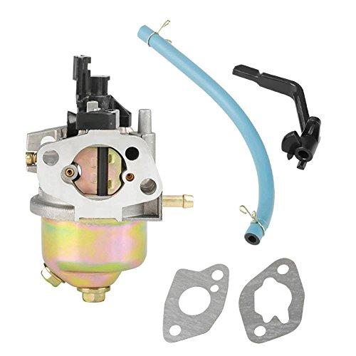 H127-2 163 cc Kit Carburador Carburador + 2 Juntas de Montaje + Tubo de Aceite + Llave para Generador de Gasolina 2KW Accesorios