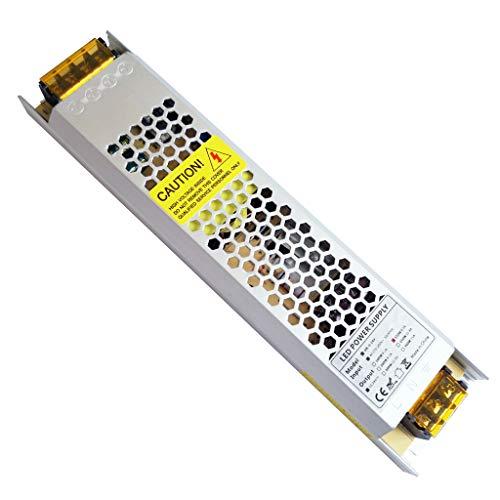 YAYZA! 1-Confezione Compatto Ultra Sottile IP20 IP20 24V 6.25A 150W LED a Bassa Tensione Driver...