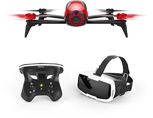 Parrot Bebop 2FPV Drone nel Set con Skycontroller e Occhiali FPV Bianco