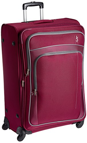 Skybags Polyester 68 cms Magenta Softsided Suitcase (STGRAW68RED)