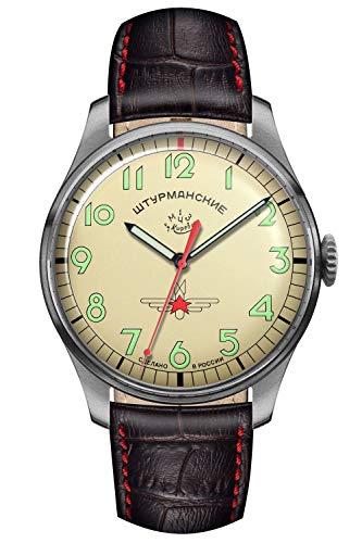 Sturmanskie Herren-Armbanduhr Gagarin Vintage Retro 2609-3745128