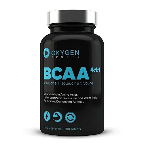 Okygen Sports BCAA 4:1:1, Suplementos - 100 Tabletas