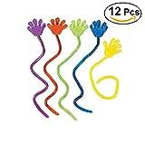 NUOLUX 12pcs escalade Palms gelée collante mains jouet