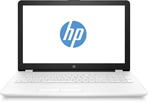 """HP Notebook 15-bw022ns - Ordenador portátil 15.6"""" (AMD A6-9220, 4GB RAM, 1TB HDD, Windows 10), Color Blanco - Teclado QWERTY Español"""