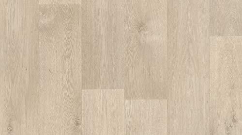 Pavimento Vinilico al metro (h. 200 cm x 50 cm) - Primetex - effetto legno marrone. Ideale per la...