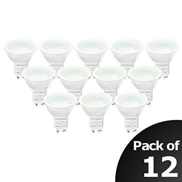 Spot LED Ampoules- Culot GU10 -Lampe Bulb Halogène Lumin Tekco® Spot Dimmable – 3.5W Consommés – Équivalent 40W – 120°Angle de faisceau